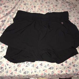 ALL BLACK H&M Compression/Running Shorts.
